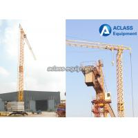 China Safety Self Erecting Tower Crane 2000 Kg Max. Load Small Crane Lifter on sale