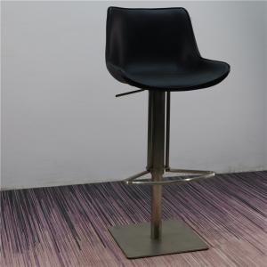 China Spacious Cushion 107cm Stainless Steel Counter Stool on sale