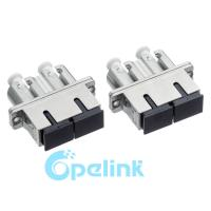 SC-LC Metal Singlemode Duplex Fiber Optic Adapter For LC Round Type Manufactures
