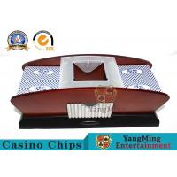 2 Deck Plastic And Woodern Automatic Card Shuffler With Battery Manufactures