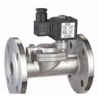 Water Air Gas Fuel NO Solenoid Valve 2 Way Pilot Operated Stainless Steel Manufactures