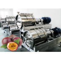 220v Full Automatic Passion Fruit Pulping Machine Food Standard Stainless Steel 304 Material Manufactures