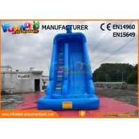 China Commercial Inflatable Water Slide Inflatable Water Slide With Swimming Pool on sale