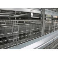 China High Capacity Poultry Breeding Cages A Frame Layer Cages Easy Maintain on sale