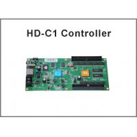 HD-C1 Asynchronous LED Control Card USB+Ethernet Port Suppor Indoor & Outdoor P10, P5 etc Module Manufactures