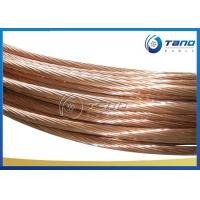 Overhead Electrical Distribution Hard Drawn Copper Conductor 120mm2 ISO9001 Manufactures
