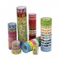 colorful stationery tape Manufactures