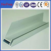 aluminium extrusion for solar frame with CNC machined holes,cutting Manufactures