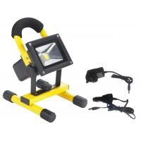Ip65 waterproof portable 10w led flood light for garden with solar panel Manufactures