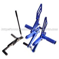China Multi - Color High Performance Motorcycle Rear Sets For Racing Bike Parts on sale