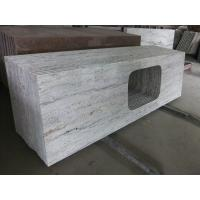 China Gray Thick Stone Slab Countertop Stone Vanity Tops 108 X 25.5 X 2 Size on sale