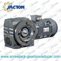 7.5KW 11KW 15KW 18.5KW 22KW Right angle drive helical worm geared motors Specifications Manufactures