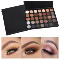 Quality 35 Color Mineral Makeup Eyeshadow Custom Makeup Palette Morphe Eyeshadow for sale