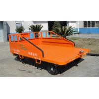 Three Railsaviation Ground Support Equipment 1500 Kg Cargo Dolly Trailer Orange Color Manufactures