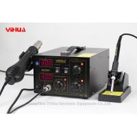 Brushless Fan 2 In 1 Soldering Station , Hot Air Rework Station Manufactures
