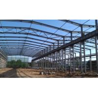 ASTM Standard Good Quality Workshop Steel Structure- 1500㎡ with Blue Color Manufactures