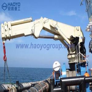 China 1 Ton Knuckle Boom Small Boat Lifting Crane Marine Ship Deck Crane Manufactures
