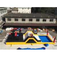 China Barry Extreme Inflatable Run Large Pirate Ship Theme Blow Up Obstacle Course on sale