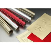 Gold Silver Hot Stamping Foil For Greeting Card / Label / Red Packets Manufactures