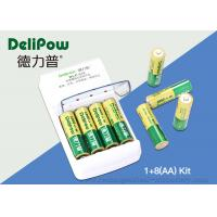Nimh 8 AA 1000mAh Rechargeable Battery Kit With Aa AAA  Battery Charger  Manufactures