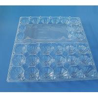 Clear Plastic Egg tray 24 holes Manufactures