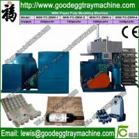 Small Waste Paper Egg Tray Machine with Semi-auto Control Manufactures
