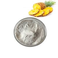 China Food Grade 100% Organic Fruit And Vegetable Juice Powder Nature Pineapple Bromelain Fruit Powder on sale