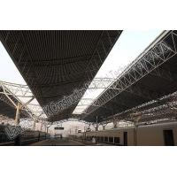 Railway Station Prefabricated Steel Structures , Steel Frame Buildings Manufactures