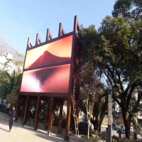 China High Resolution Fixed Installation 10ft X 12ft P3 Outdoor Tv Screen on sale