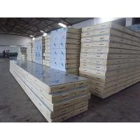 Quake Proof PU PVC Polyurethane Metal Building Wall Panels With Stainless Steel Manufactures