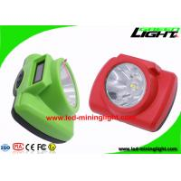Brightest Cordless Mining Cap Lights Electrical Protection Hard PC Material Manufactures