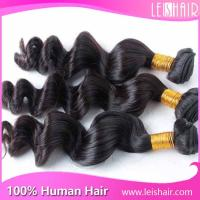 Wholesale cheap 5a brazilian loose wave human hair weave