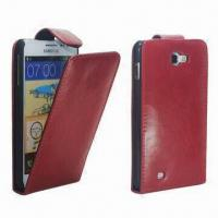 Leather Phone Cover, Customized Logos are Welcome, Various Colors are Available, Packed in Gift Box Manufactures