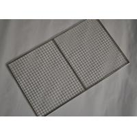 304 Stainless Steel Crimped Mesh Barbecue Grills Panels / Trays Manufactures