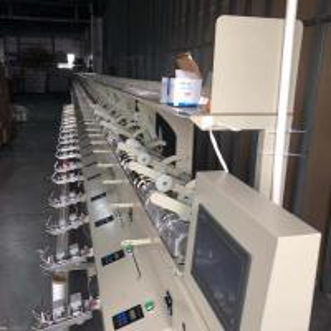 China 1200 M/Min Electric Wool Winder , Thread Ball Winding Machine Progressive Speed Increase on sale
