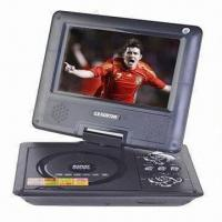 China 7-inch Portable DVD Player for Car Outdoor Travel, with 20ms Response Time on sale