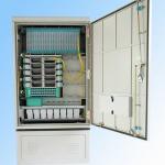 288fo Street Fiber Optic Cabinet Outdoor , Fiber Optic Splice Closure Cross Connection Manufactures