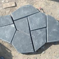 Natural stone Slate Meshed Back Flagstone Flooring High Wear And Impact Resistant Manufactures