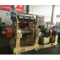 16.25m/Min Rubber Mixing Mill Machine Open Mixing Mill Machine With Blender Manufactures