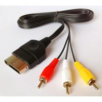 China Xbox AV Audio and Video Game Cables with gold plating 1.8M length on sale