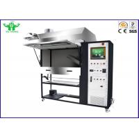 China Insulated Flooring Radiant Panel Test Apparatus For Measuring Flame Spread on sale