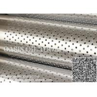 API 5CT standard Perforated based pipe used for water and oil filter Manufactures