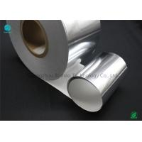 Silver Moisture - Proof Aluminium Foil Paper With White Backing Base Paper For Premium Cigarette Packaging Manufactures