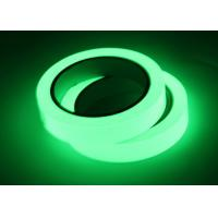 Buy cheap High Traction Glow In The Dark Adhesive Tape For Safety Markers Non Radioactive from wholesalers