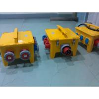 Weather Protected Portable Distribution Box Orange PE Shell Material Manufactures
