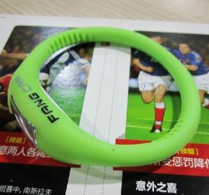 China Negative Ion silicone bracelet watch on sale