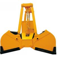 Electric hydraulic Two Ropes Orange Peel Grab bucket 15 ton Manufactures