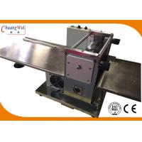 Automatic PCB Depaneling Machine LED Panel Separating High Speed Steel for sale