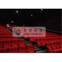 Comfortable 3D Cinema System , Luxury Theater Seats And Powerful Sounds Manufactures