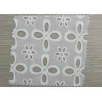 Custom Decorative Elastic Eyelet Gathered Lace Trim Embroidery Lace Fabric Manufactures